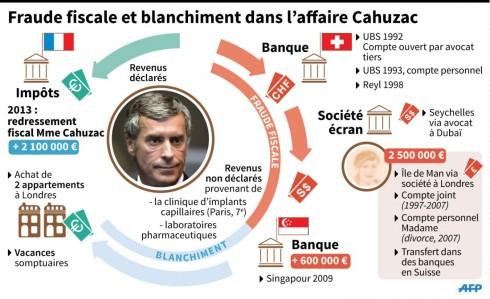 Infographie Cahuzac